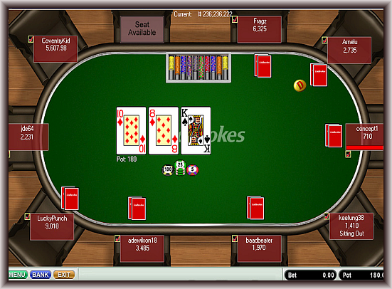 Check out the perks in playing online poker