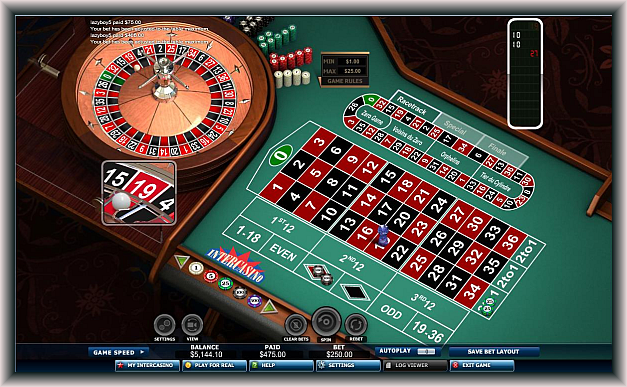 Have great fun playing online roulette