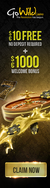 Go Wild Casino $£€1000 Welcome bonus + $€10 free- CLAIM NOW