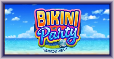 Bikini party online slot has 243 different possible winning combinations
