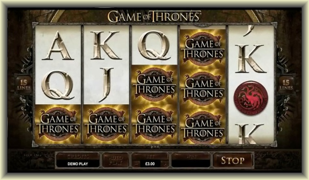 Experience the epic drama of Westeros with Game of Thrones online slot game
